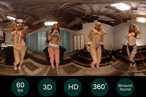 HoloGirls: la primera vez Sexo Virtual