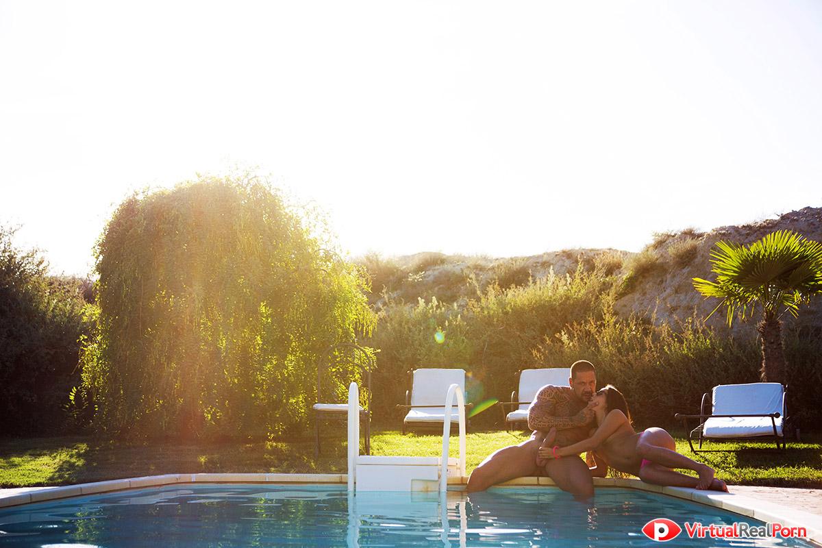 Campo piscina Sexo Virtual