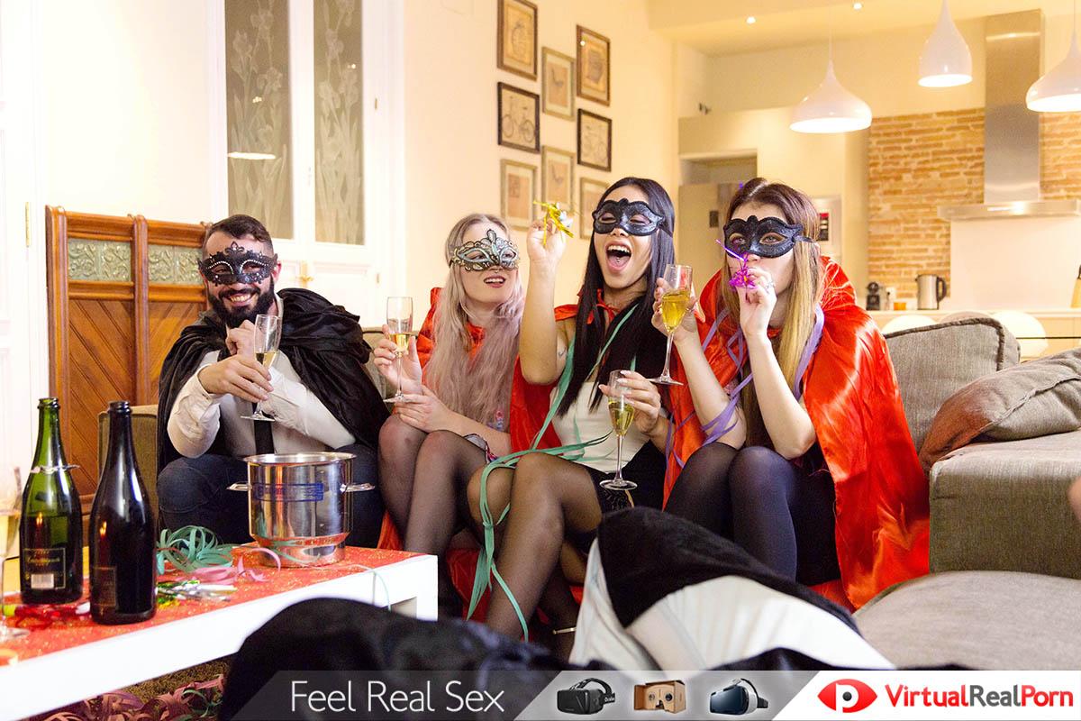 Feliz Ano Nuevo Sexo Virtual